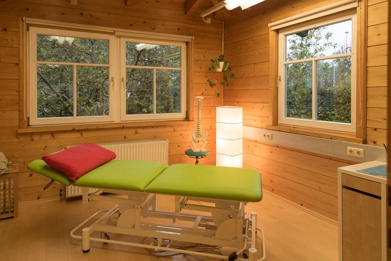 Therapieraum Physiotherapie