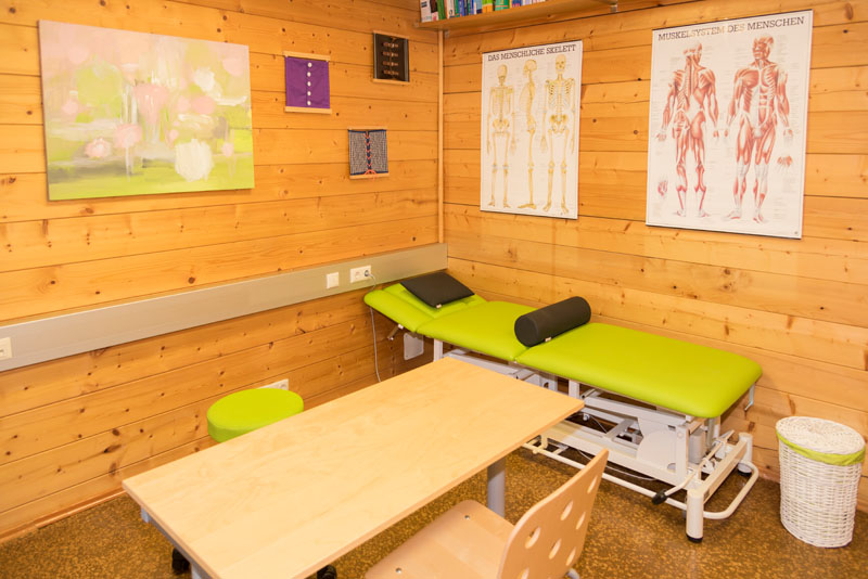 Therapieraum Ergotherapie